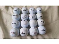 16 Pearl/Grade A Bridgestone e6 Golf Balls