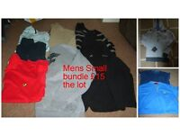 Mens jeans bnwt 28 waist 30 leg £15 the pair , mens/ childs small bundle £15 or £30 the lot