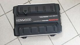 Kenwood KAC 6203 2 Channel Amplifier 600 Watt Max AMP