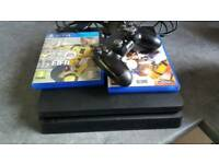 Ps4 slimline play station console