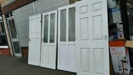 Doors internal 3 solid & 2 light two with half glass 77x30 & 1 door 32x77