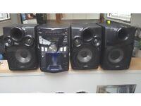 JVC MX-KC68 Speakers