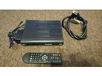 Goodmans freeview plus box with 320gb harddrive