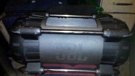 Car bass tube built in amp