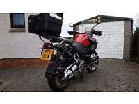 BMW 1200GS TOURER WITH LUGGAGE