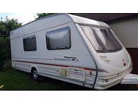 2000 Sterling Eccles Moonstone 4 berth touring caravan