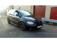 2004 Chrysler Grand Voyager 2.8 CDR Limited XS 7 Seater MPV Spares Or Repairs Export Galaxy Sharan