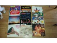 Collection of 30 records / vinyls