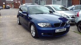 BMW 120D M SPORT, FSH, PRIVACY WINDOWS, LEATHERS!