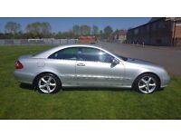 54 Plate Mercedes-Benz CLK 320 Avantgarde 2 Door Coupe. F.S.H.