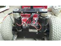 Mobility scooter motors