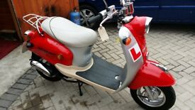 AS NEW 50 CC SCOOTER