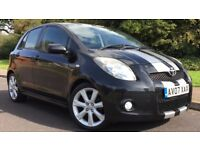 TOYOTA YARIS SR 1.8L FULL TOYOTA MAIN DEALER SERVISE HISTORY,HPI CLEAR,SERVICED & MOTED