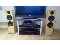 Hifi floorstanding speakers acoustic solutions av120