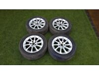 Audi A3 Complete set of 4 Alloy Wheels with Tyres fits 2012 2013 2014 2015 2016