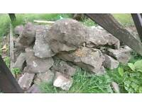 Rockery rocks various sizes ideal for ponds or rockery area