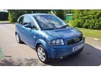 Audi A2 1.4 SE 5dr£995 p/x considered JUST ARRIVED 2002 (02 reg), Hatchback