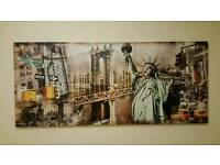 Large New York Canvas