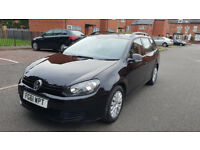 2011 61 REG NEW SHAPE VOLKSWAGEN GOLF 1.6 TDI 105 BLUEMOTION TECH S MK6 ESTATE MANUAL MOT