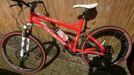 Specialized full suspension in very nice condition and full suspension 690 Nov!!!