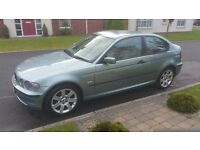 2003 BMW 316Ti se COMPACT, *ONLY 58K!!* FULL MOT, HIGH SPEC & FANTASTIC CONDITION!!