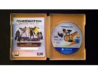 PS4 Overwatch Origins Edition with Limited Edition Noire Skin