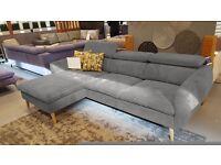 RAVENA Delivery 1-10 days Prestige line Italian comfort design Corner sofa is presentable product