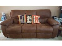 3 Seater Sofa for sale, 1 year old, excellent condition