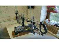 Precision mitre saw (picture frame, skirting board etc)