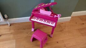 Bontempi i-Girl Electronic Grand Piano with stool
