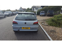 Peugeot 306 XS 1.8 16v with private number plate