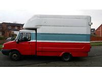 2004 LDV Convoy 400 TD LWB Luton Box Van 11 Months MOT