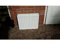 3 small radiators for sale, all double vents