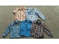 Bundle of Boy's Shirts 4-5 yrs
