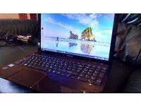 Toshiba Windows 10 Laptop PC Computer i3 processor massive 1000 Gb hard drive