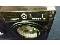 Black 9kg washing machine for sale.free local delivery