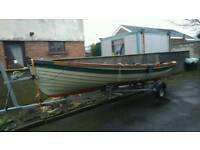 Sheelin lake boat 19ft