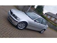 2004 (04) BMW 3 SERIES E46 318i ES 2.0L PETROL MANUAL 4DR SALOON MOT JUN 2017 HPI CLEAR SUPERB DRIVE