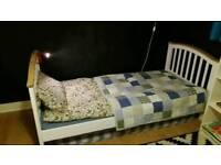 Single shabby chic bed