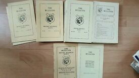 39 copies of The Bulletin Military historical society magazine
