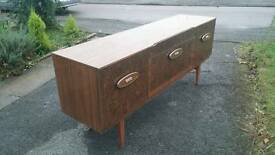 Vintage antique drinks cutlery cabinet chest