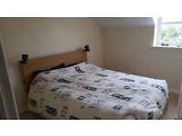 Double Bed Ikea + Matress kingsize + 4 drawers