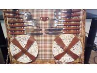 picnic baskets excellent condition