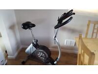 DAUM Ergo Electronic Fitness Exercise Bike - ability to link to your TV