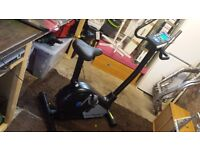 Roger black gold exercise bike open to offers