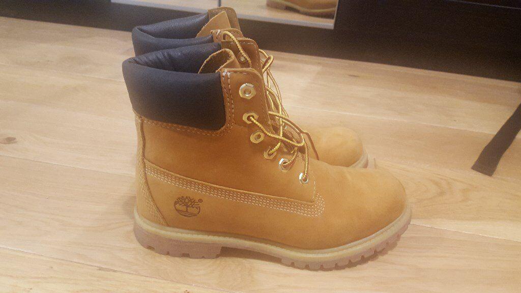 Timberland Premiun Icon Boots, Size 5