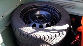 Bmw winter wheels and tyres 3 series 1 series