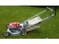 Honda self propelled mower, alloy deck, blade clutch built to last
