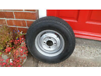 Classic Mini 10 inch wheel with new tyre