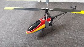 RC 450 fiberglass aluminium 3D helicopter brand new